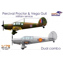 Dora Wings DW7202D Percival Proctor & Vega Gull (2 in 1) (1:72)
