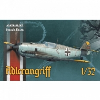 Eduard 11107 Adlerangriff - Bf-109E + fig. A.Gallanda - Limited Edition (1:32)