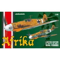 Afrika (Bf 109F,Bf 109G-2) - Dual Combo - Limited Edition (1:48)