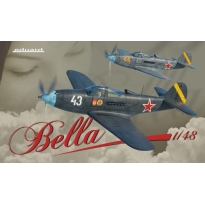 """P-39 Airacobra """"Bella"""" Dual Combo - Limited Edition (1:48)"""