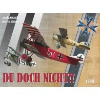Eduard 11137 Du doch nicht! Albatros D.V, Fokker Dr.I, Fokker D.VII - Limited Edition (1:48)
