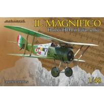 Eduard 11139 IL MAGNIFICO Hanriot HD. I in Italian service - Limited Edition (1:48)