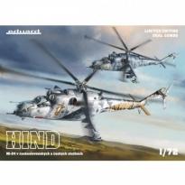 HIND / Mi-24 v československých a českých služnách  - Dual Combo - Limited Edition (1:72)