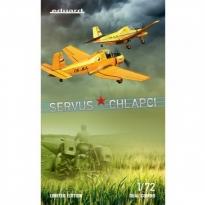 Eduard 2131 SERVUS CHLAPCI – Z-37A Čmelák (Dual Combo + figurka) - Limited Edition (1:72)