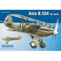 Avia B.534 III.serie - Weekend Edition (1:72)