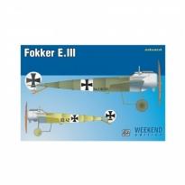 Fokker E.III - Weekend Edition (1:72)