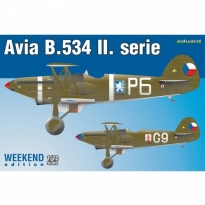 Avia B.534 II. serie - Weekend Edition (1:72)