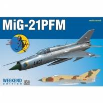 Eduard 7454 MiG-21PFM - Weekend Edition (1:72)