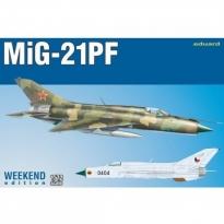 Eduard 7455 MiG-21PF - Weekend Edition (1:72)