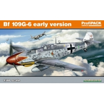 Bf 109G-6 Early Version- ProfiPACK (1:48)