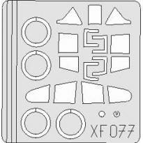 P-40B/ C Tomahawk: Maska (1:48)