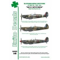 Sexy Spitfires - Supermarine Spitfire LF Mk Vb - VIII - IXe (1:48)