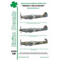 Exito ED48005 Sweet Fourteens - Supermarine Spitfire Mk.XIVe (1:48)