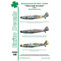 Exito ED48006 The Last in Line - Messerschmitt Bf 109 G-10 WNF (1:48)