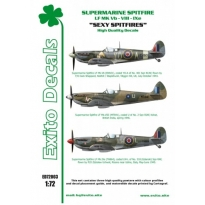 Sexy Spitfires - Supermarine Spitfire LF Mk Vb - VIII - IXe (1:72)