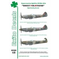 Exito ED72005 Sweet Fourteens - Supermarine Spitfire Mk.XIVe (1:72)