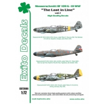 Exito ED72006 The Last in Line vol.1 - Messerschmitt Bf 109 G-10 WNF (1:72)