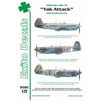 Exito ED72007 Yak Attack - Yakovlev Yak-1b (1:72)