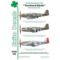 Exito ED72008 Yoxford Girls - North American P-51D Mustang (1:72)
