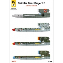Daimler Benz Project F - German service (1:144)