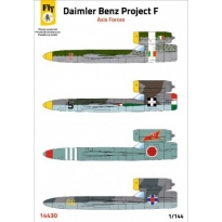 Daimler Benz Project F - Axis Forces (1:144)