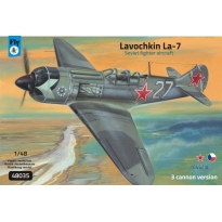 Lavochkin La-7 3 cannon version (1:48)