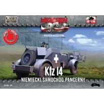 First to Fight Kfz.14 Niemiecki samochód pancerny (1:72)