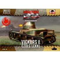 First to Fight Czołg lekki Vickers E (jednowieżowy) (1:72)