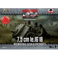 First to Fight 7,5cm Ie IG 18 Niemieckie dzialo piechoty (1:72)