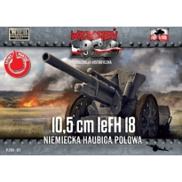 First to Fight 10,5cm leFH 18 Niemiecka haubica polowa (1:72)