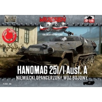 First to Fight Hanomag 251/1 Ausf.A Niemiecki wóz bojowy (1:72)
