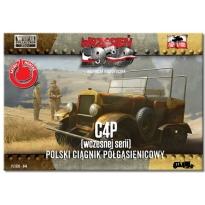 First to Fight C4P (wczesnej serii ) Polski Ciągnik Półgąsienicowy (1:72)