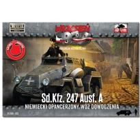 First to Fight Sd.Kfz 247 Ausf A  Niemiecki opancerzony wóz dowodzenia (1:72)
