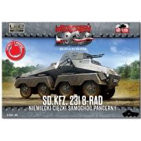 First to Fight Sd.Kfz 231 8-RAD Niemiecki ciężki samochód pancerny (1:72)