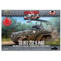 First to Fight Sd.kfz 232 6-rad Niemiecki samochód pancerny (1:72)