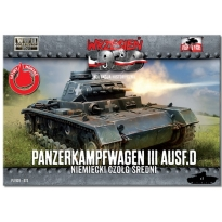 First to Fight PzKpfw III Ausf. D (1:72)