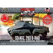 First to Fight Sd.Kfz. 263 8-RAD Niemiecki ciężki samochód pancerny (1:72)