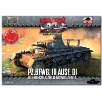 First to Fight Pz.BfWg.III Ausf. D1 Niemiecki czołg dowodzenia (1:72)