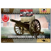 First to Fight Armata polowa 75 mm wz. 1902/26 (1:72)