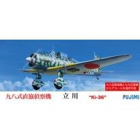 Tachikawa Ki-36 w/Camouflage Decals (1:72)
