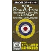 MR Color  RAF Colors for Aircraft (WW2) - Zestaw 3 farb o poj.10 ml