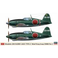 "Mitsubishi J2M3 Raiden (Jack) Type 21 ""302nd Flying Group Combo Part 2"" - Limited Edition (1:72)"