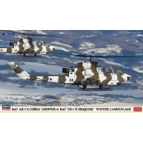 Bell AH-1S Cobra Chopper and Bell UH-1H Iroquois Winter Camo (2 kits) - Limited Edition (1:72)