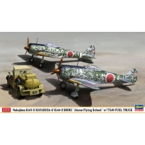 "Nakajima Ki43-II HAYABUSA & Ki44-II SHOKI ""Akeno Flying School"" w/TX40 FUEL TRUCK (2 kits in the box) (1:72)"