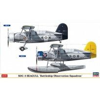 "SOC-3 SEAGULL ""Battleship Observation Squadron"" (2 kits in the box) (1:72)"