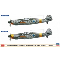 "Messerschmitt Bf109G-6 ""Finnish Air Force Aces Combo"" (2 kits in the box) - Limited Edition  (1:72)"