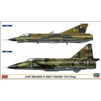 """J35F Draken & SH37 Viggen """"F13 Wing"""" (1:72)"""