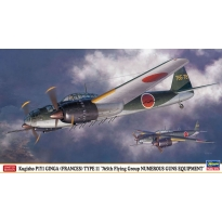 """Kugisho P1Y1 GINGA (FRANCES) TYPE 11 """"765th Flying Group NUMEROUS GUNS EQUIPMENT"""" (1:72)"""