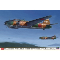 "Mitsubishi G4M1 Type 1 Attack Bomber Model 11 ""Sea Battle off Malaya"" (1:72)"