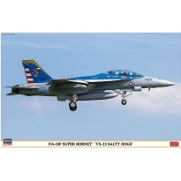 """F/A-18F Super Hornet """"VX-23 Salty Dogs"""" - Limited Edition (1:48)"""
